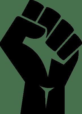 BLM fist